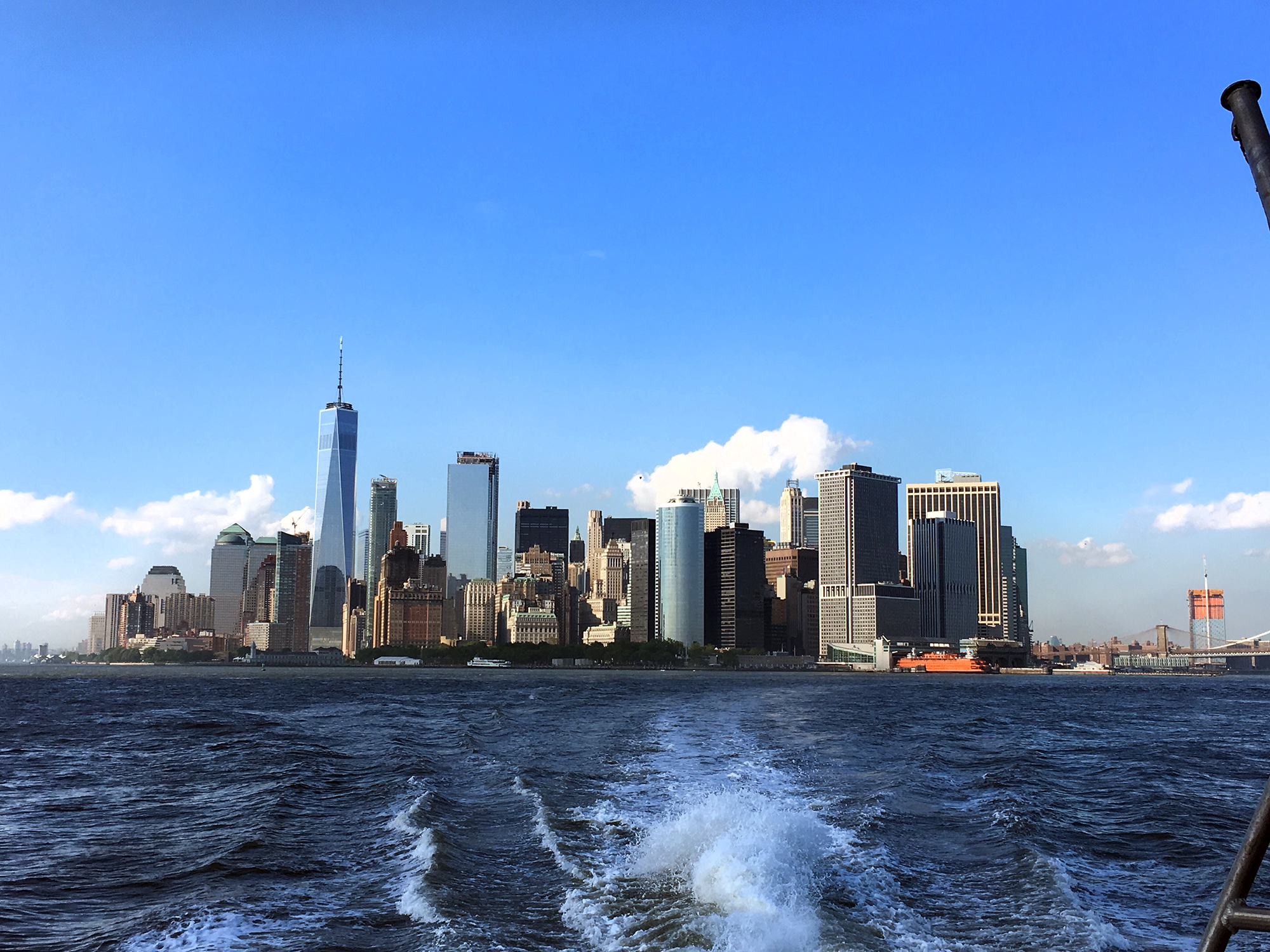 The NYC Ferry's Rockaway Ferry offers Upscale Refreshments