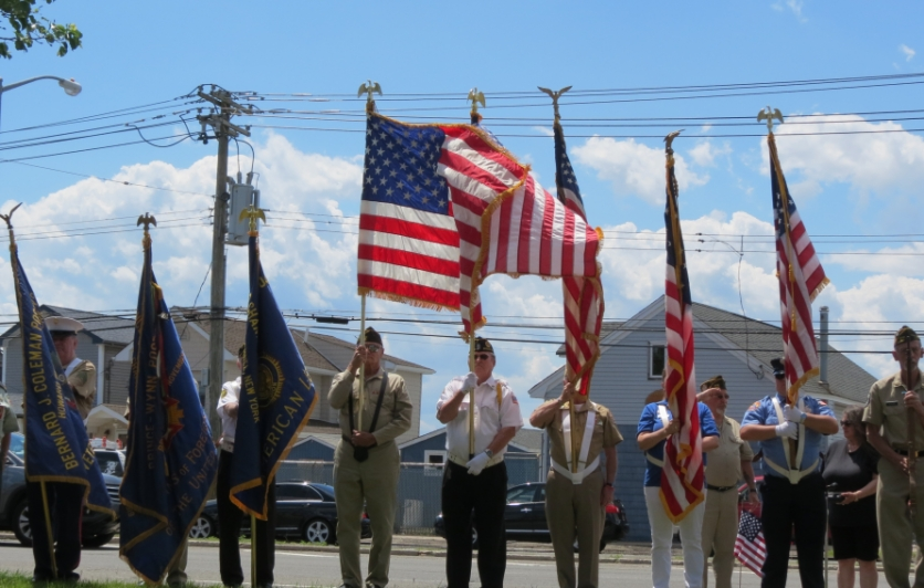 Broad Channel Flag Day