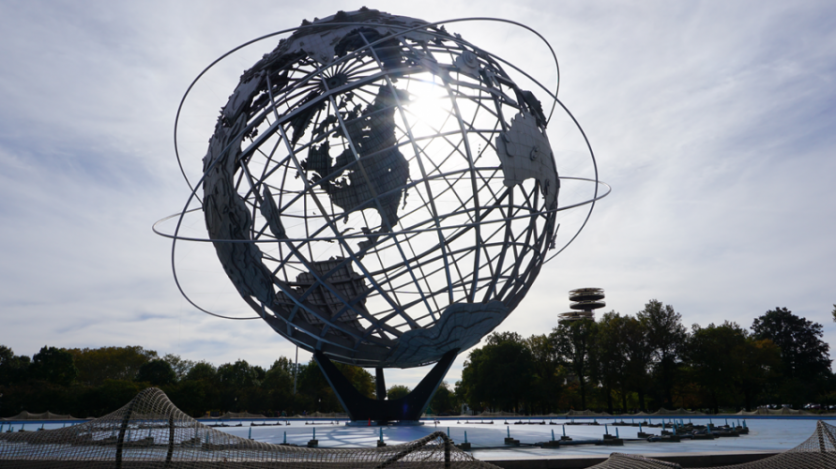 """Where to Eat When Visiting Ai Weiwei's """"Circle Fence"""" in Flushing Meadow Park, Corona."""