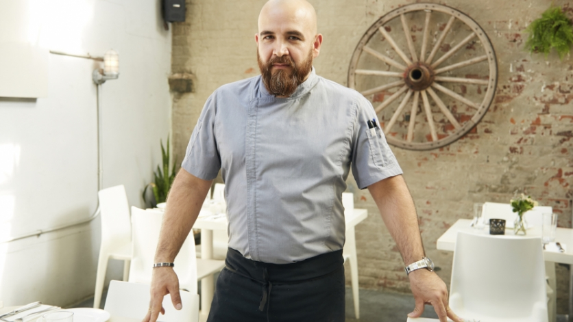 Chef Cosme Aguilar, owner/chef at Casa Enrique in Long Island City.