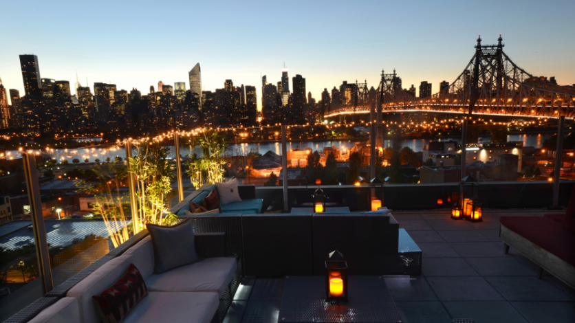Z Roof at Z Hotel in Long Island City, Queens.