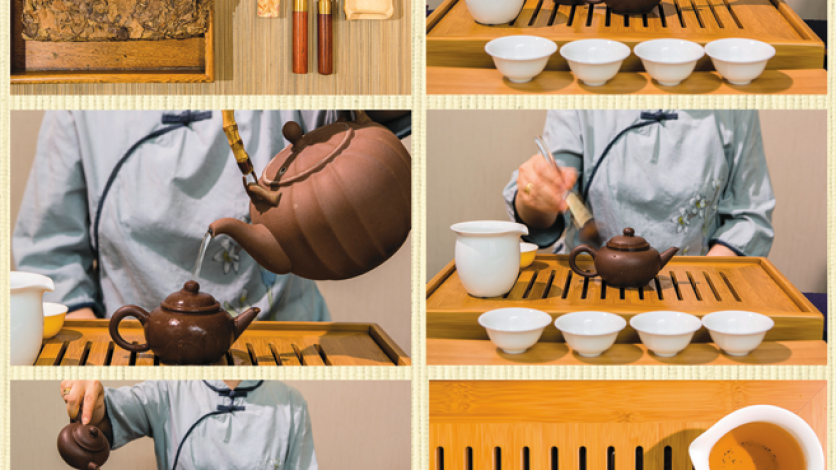 How to serve traditional Chinese tea.