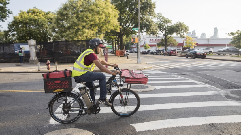 Bike Delivery People Is One Of The Most Underpaid And Dangerous Jobs