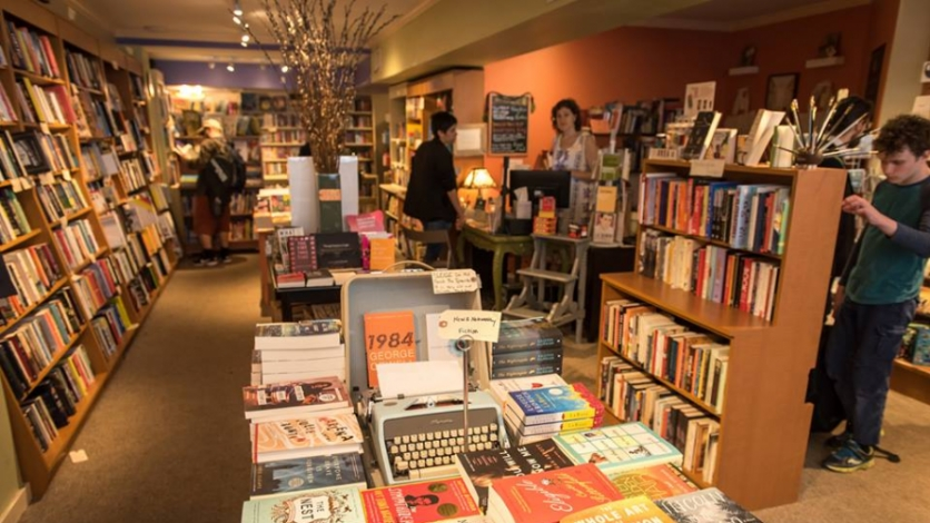 The Astoria Bookshop in Astoria.