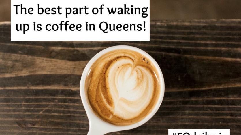 Sweetleaf coffee and tea in Long Island City.