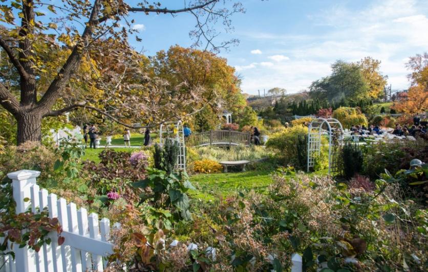 Seasonal Garden Tours at Queens Botanical Garden