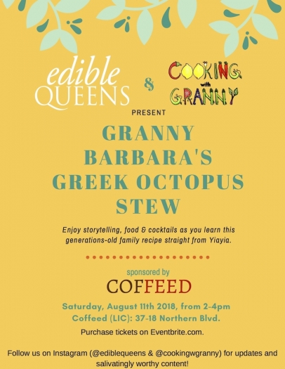 Cooking with Granny Greek Octopus Stew