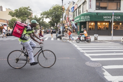 Small Businesses Navigate a Restaurant Industry Dominated by Delivery Platforms in Queens, New York.