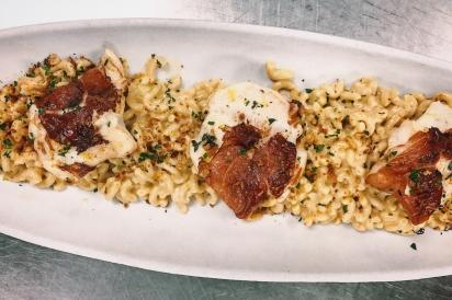 Halibut Mac and cheese recipe