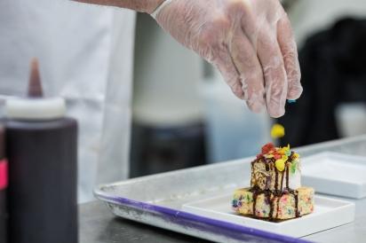 One of Mitch Greenberg's MitchMallows dessert creations.