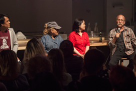Panel discussion at MOFAD with film maker James Boo.