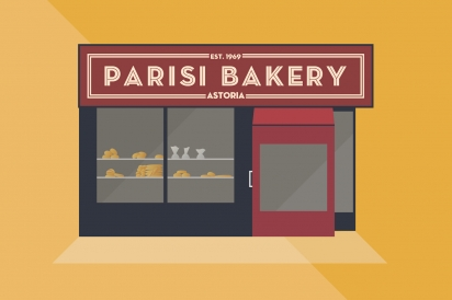 Parisi Bakery offers baked goods in Astoria, Queens.