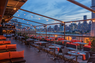 Penthouse 808 in Long Island City, Queens.