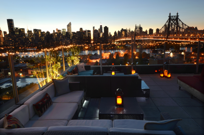 Z Roof at Z Hotel in Long Island City.