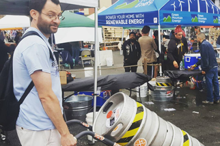 Queens Beer Festival at the LIC Flea and Food.