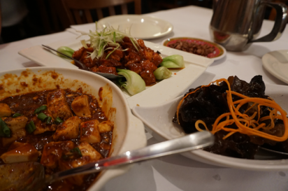 Hunan Kitchen of Grand Sichuan serves Chinese cuisine in Flushing.
