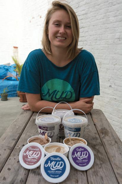 LBRB member Miriam Kwietniewska has used the group to help catapult her line of MUD vegan desserts;