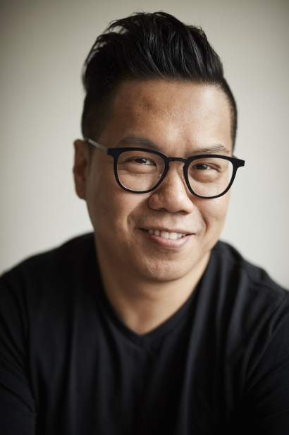 Chef Thomas Chen of Tuome at his home in Queens.