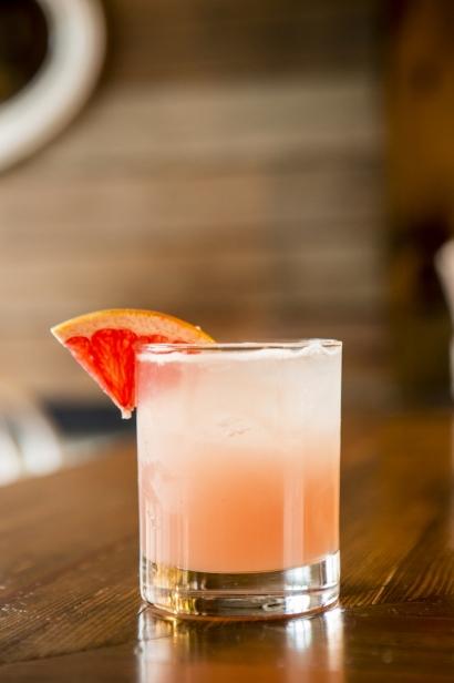 The Pomeroy's bartender, Andy Donohoe's Astoria Park Sunrise.