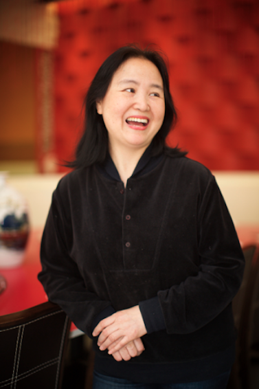 Helen You, author of the Dumpling Galaxy Cookbook