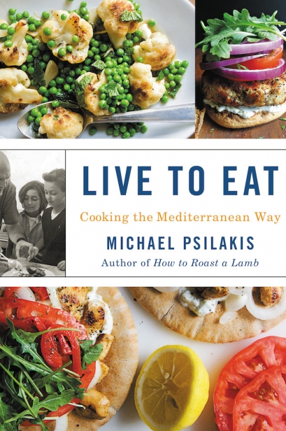 Chef MichaelPsilakis's Live to Eat: Cooking the Mediterranean Way cookbook.