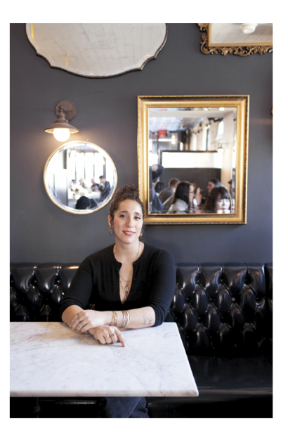 Antonia Joannides, owner of The Queen's Room in Astoria, Queens