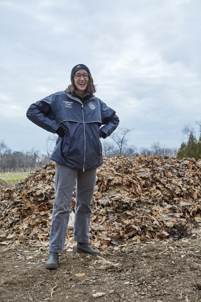 Emily Bachman is the Compost Program Manager at GrowNYC.