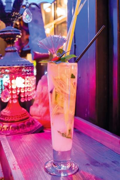 Pata Paplean's Tom Yum cocktail