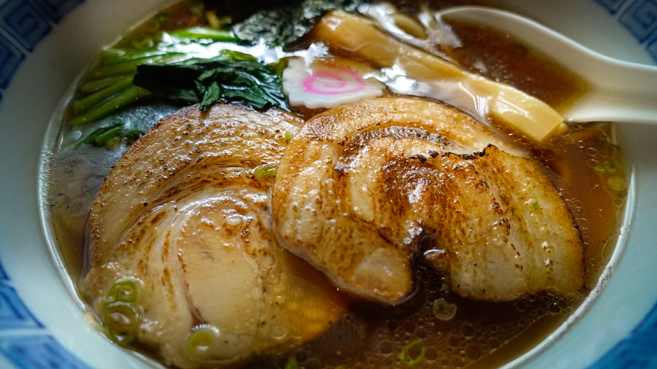 A Bowl of Ramen from Keizo Shimamoto, watch the ramen burger video.