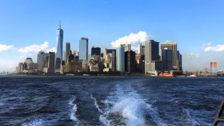 The view from the Rockaway Ferry.