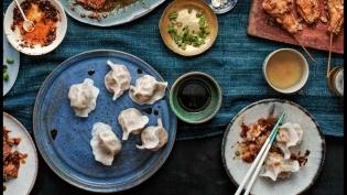 The Dumpling Galaxy Cookbook by Helen You.