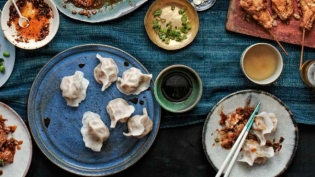 The Dumpling Galaxy Cookbook by Helen You.