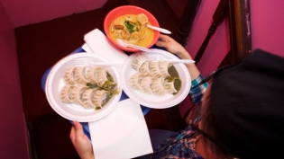 The Momo Crawl takes place every year in Jackson Heights to celebrate Nepalese and Tibetan cuisine.