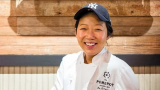 Chef Bo O'Connor, owner of The Pomeroy in Astoria.