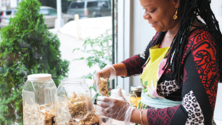 Simone Lord Marcelle expanded her practice as a naturopathic doctor into a café and storefront called Mother Earth