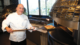 Corporate Executive Chef Steve Koutsoumbaris at Allora in Bayside, Queens.